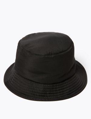 Шляпа от дождя с технологией Stormwear™ M&S Collection. Цвет: черный
