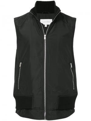Многослойная жилетка Ck Calvin Klein. Цвет: чёрный