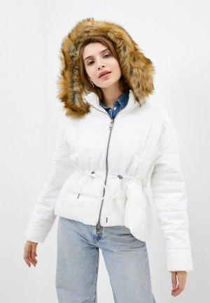 Куртка утепленная Manila Grace. Цвет: белый