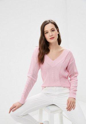Пуловер JJ Wear. Цвет: розовый