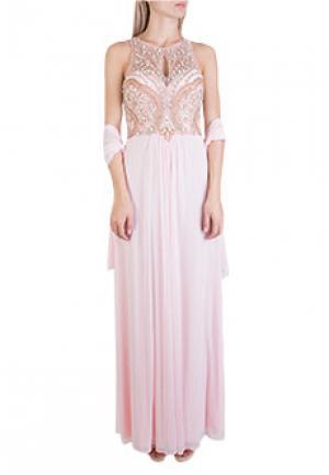 Платье MIKAEL. Цвет: розовый