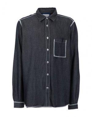 Джинсовая рубашка ACNE STUDIOS BLÅ KONST. Цвет: синий