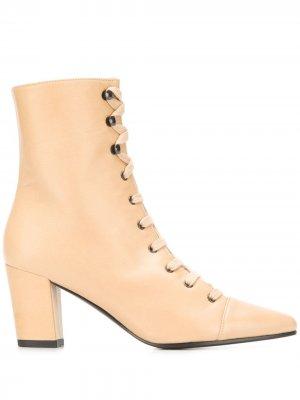 Addison boots Michel Vivien. Цвет: коричневый