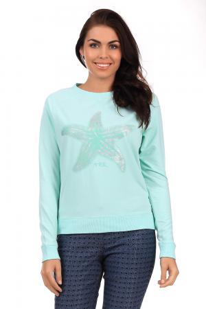 Пуловер Arqueonautas. Цвет: голубой