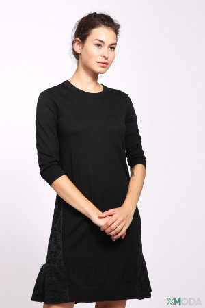 Платье Just Valeri. Цвет: чёрный