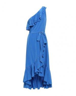 Платье до колена JOIE. Цвет: синий