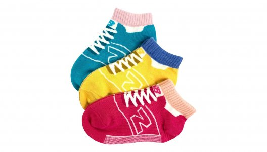 Носки Toddler Low Cut 3 Pair New Balance. Цвет: мульти