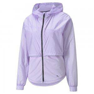 Куртка Ultra Womens Hooded Training Jacket PUMA. Цвет: фиолетовый