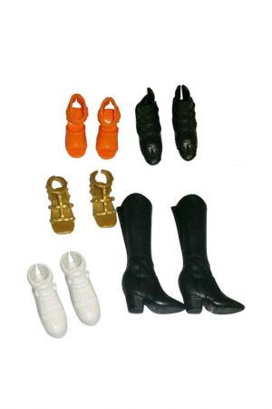 Обувь в подарочной упаковке Barbie. Цвет: черный