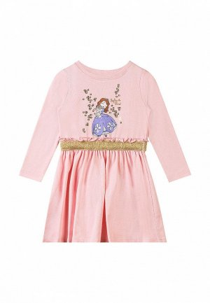 Платье Disney София Прекрасная x Mothercare. Цвет: розовый