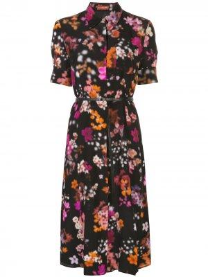 Платье-рубашка Kiernan Altuzarra. Цвет: черный