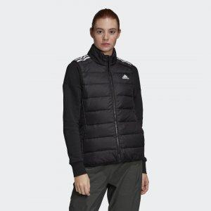 Утепленный жилет Essentials Light Performance adidas. Цвет: черный