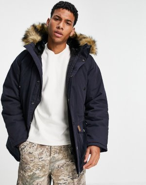 Куртка-парка Trapper-Темно-синий Carhartt WIP