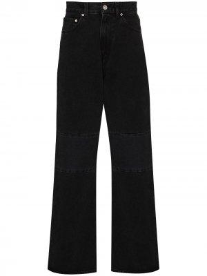 Прямые джинсы Our Legacy. Цвет: черный