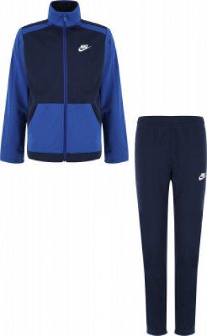 Костюм для мальчиков Sportswear, размер 137-147 Nike. Цвет: синий