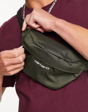 Сумка-кошелек на пояс Payton-Зеленый цвет Carhartt WIP