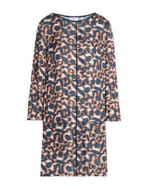 Короткое платье DAY BIRGER ET MIKKELSEN. Цвет: коричневый