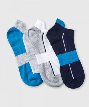 Комплект коротких носков для фитнеса O`Stin. Цвет: бирюзовый