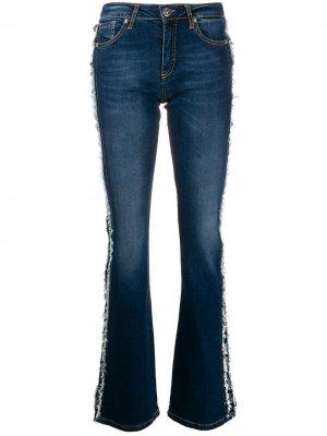 Расклешенные джинсы Brigitte John Richmond. Цвет: синий