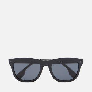 Солнцезащитные очки Miller Polarized Burberry. Цвет: чёрный