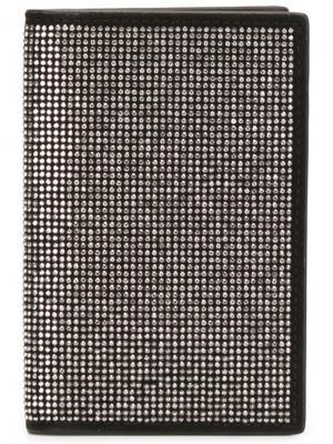 Бумажник Blake Giuseppe Zanotti Design. Цвет: чёрный
