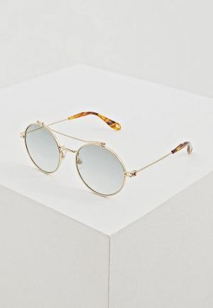 Очки солнцезащитные Givenchy GV 7079/S 06J. Цвет: золотой