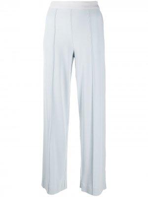 Широкие брюки с защипами By Malene Birger. Цвет: синий