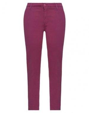 Повседневные брюки H2O ITALIA. Цвет: розовато-лиловый