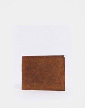Светло-коричневый бумажник двойного сложения Alpin Peter Werth