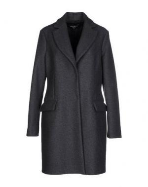 Пальто ADELE FADO. Цвет: свинцово-серый