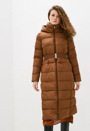 Куртка утепленная Снежная Королева. Цвет: коричневый