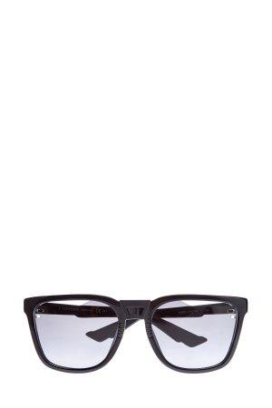 Очки B24 с объемной отделкой дужек и резными линзами DIOR (sunglasses) men. Цвет: черный
