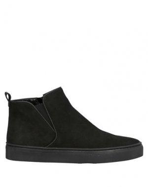 Высокие кеды и кроссовки THE FLEXX. Цвет: черный