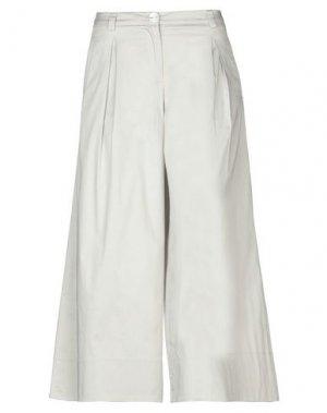 Повседневные брюки ALTEЯƎGO. Цвет: серый