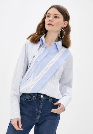 Рубашка Adzhedo. Цвет: голубой