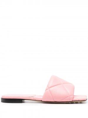 Сандалии Lido Bottega Veneta. Цвет: розовый