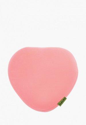 Подушка декоративная Gekoko Нежное сердце. Цвет: розовый