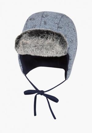 Шапка Broel Fox. Цвет: синий