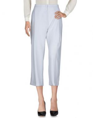 Повседневные брюки TROU AUX BICHES. Цвет: светло-серый