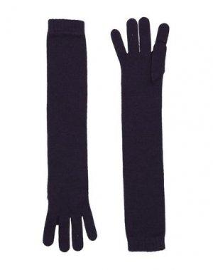 Перчатки JOHNSTONS. Цвет: баклажанный