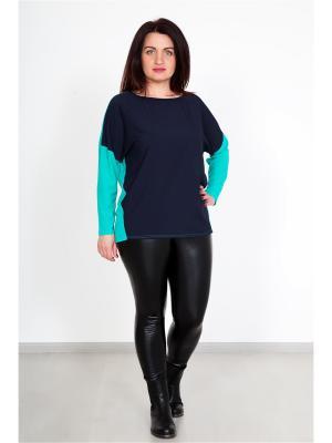 Кофточка Lika Dress. Цвет: темно-синий, морская волна