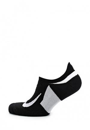Носки Nike Unisex Dry Elite Cushioned No-Show Running Sock. Цвет: черный