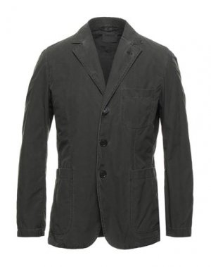 Пиджак ASPESI. Цвет: темно-зеленый