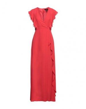 Короткое платье BCBGMAXAZRIA. Цвет: красный