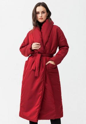 Куртка утепленная Ligio. Цвет: красный