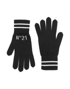Перчатки N°21. Цвет: черный
