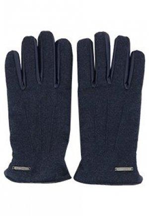 Перчатки CORNELIANI. Цвет: синий