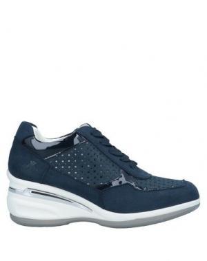 Низкие кеды и кроссовки ARMATA DI MARE. Цвет: синий