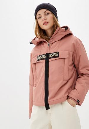Куртка утепленная Napapijri SKIDOO W CREATOR. Цвет: розовый