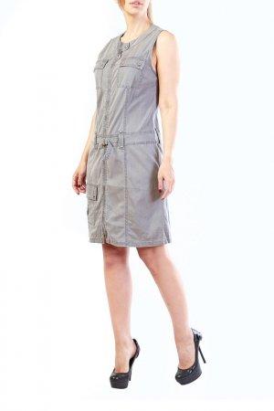 Платье LAFEI-NIER. Цвет: серый